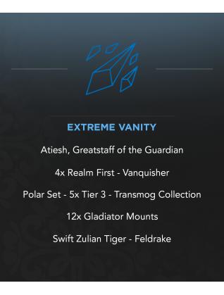 Atiesh, Greatstaff of the Guardian - 12x Gladiator - 4x Realm First - 5x T3 - CM - High Vanity